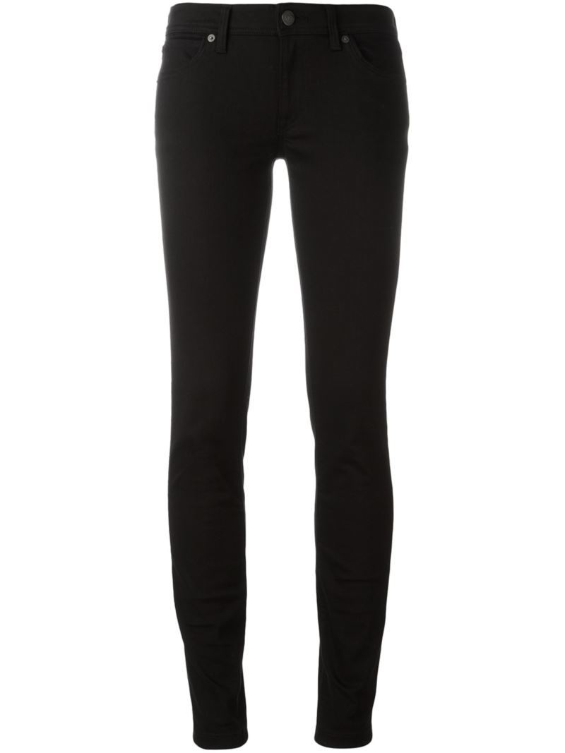 Skinny Fit Jeans, Women's, Black - style: skinny leg; length: standard; pattern: plain; pocket detail: traditional 5 pocket; waist: mid/regular rise; predominant colour: black; occasions: casual; fibres: cotton - stretch; texture group: denim; pattern type: fabric; season: s/s 2016