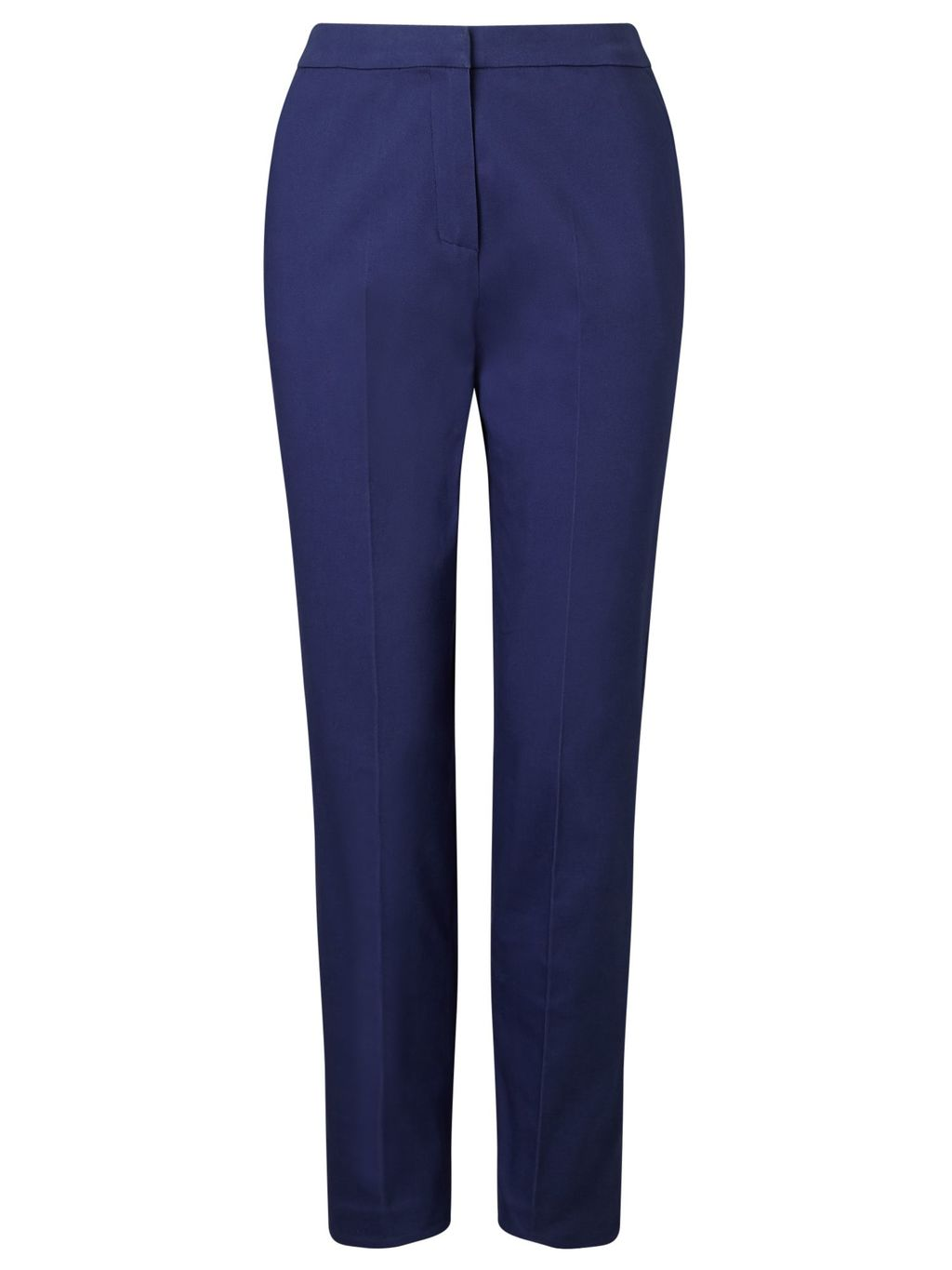 Item Chinos, Navy - length: standard; pattern: plain; waist: high rise; predominant colour: navy; occasions: work; style: chino; fibres: cotton - stretch; texture group: cotton feel fabrics; fit: slim leg; pattern type: fabric; season: s/s 2016