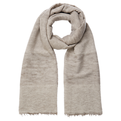 Panel Sparkle Scarf - predominant colour: mid grey; occasions: casual, creative work; type of pattern: standard; style: regular; size: standard; material: fabric; pattern: plain; season: s/s 2016