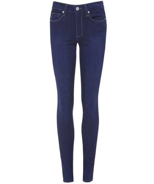Hoxton Ultra Skinny Jeans - style: skinny leg; length: standard; pattern: plain; pocket detail: traditional 5 pocket; waist: mid/regular rise; predominant colour: navy; occasions: casual; fibres: cotton - stretch; jeans detail: dark wash; texture group: denim; pattern type: fabric; season: s/s 2016; wardrobe: basic