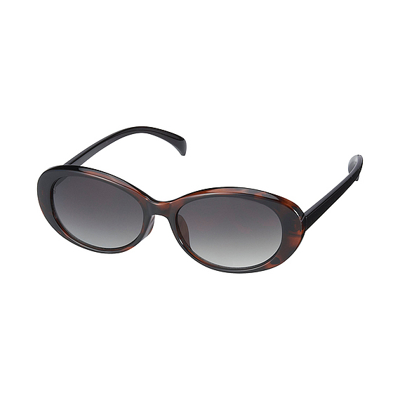 Women Oval Shaped Sunglasses Brown - predominant colour: chocolate brown; occasions: casual, holiday; style: cateye; size: standard; material: plastic/rubber; pattern: plain; finish: plain; season: s/s 2016; wardrobe: basic