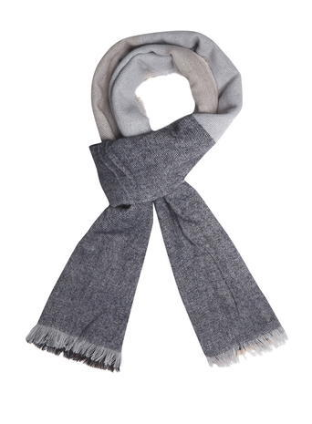 Womens Navy Oversize Check Scarf Blue - secondary colour: mid grey; predominant colour: light grey; occasions: casual, creative work; type of pattern: standard; style: regular; size: standard; material: fabric; pattern: colourblock; season: s/s 2016; wardrobe: highlight