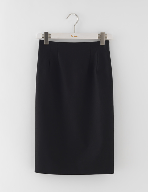 Richmond Skirt Black Women, Black - pattern: plain; style: pencil; fit: body skimming; waist: mid/regular rise; predominant colour: black; occasions: evening; length: on the knee; fibres: cotton - stretch; pattern type: fabric; texture group: jersey - stretchy/drapey; season: s/s 2016