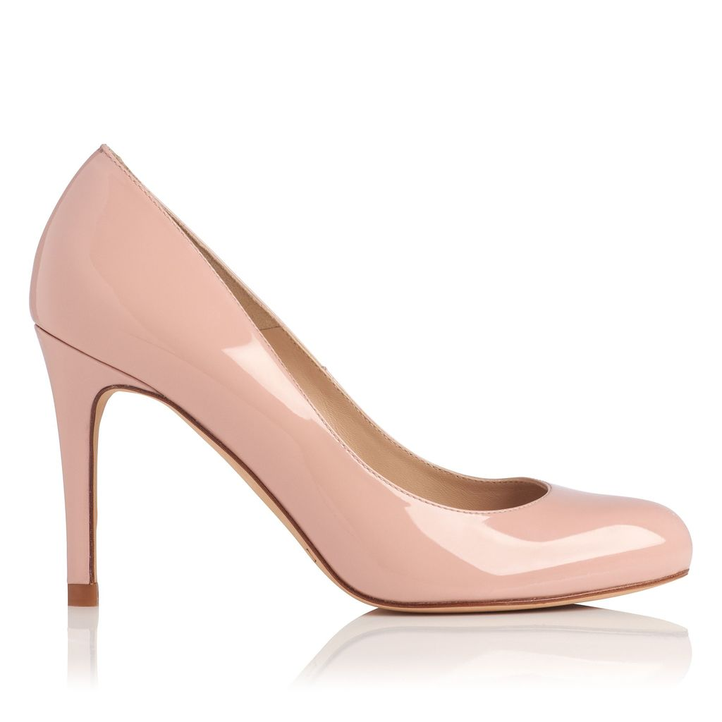 Stila Single Sole Court Shoes, Pink - predominant colour: blush; occasions: evening; material: leather; heel height: high; heel: stiletto; toe: pointed toe; style: courts; finish: patent; pattern: plain; season: s/s 2016; wardrobe: event