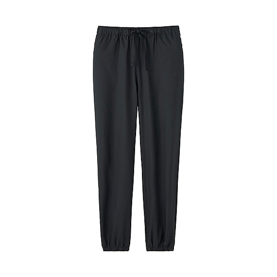 Women Soft Touch Drape Pants (4 Colours) Black - length: standard; pattern: plain; style: harem/slouch; waist: mid/regular rise; predominant colour: black; occasions: casual; fibres: viscose/rayon - 100%; fit: tapered; pattern type: fabric; texture group: woven light midweight; season: s/s 2016; wardrobe: highlight