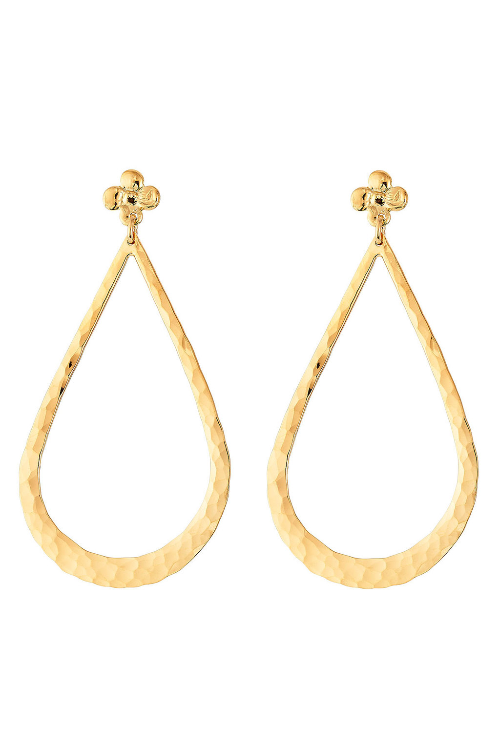 Bibi Gold Plated Earrings - predominant colour: gold; occasions: evening; style: drop; length: long; size: large/oversized; material: chain/metal; fastening: pierced; finish: metallic; season: s/s 2016