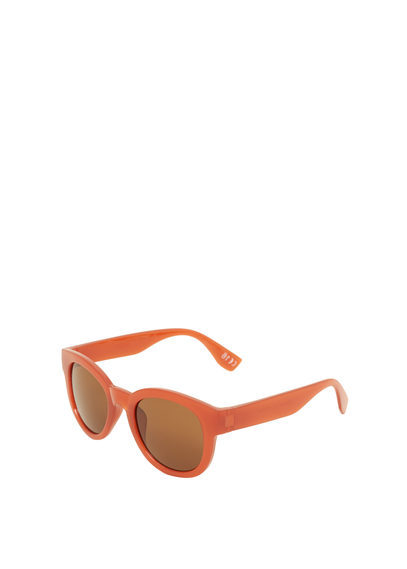 Retro Style Sunglasses - predominant colour: bright orange; style: d frame; size: standard; material: plastic/rubber; pattern: plain; occasions: holiday; finish: plain; season: s/s 2016; wardrobe: highlight