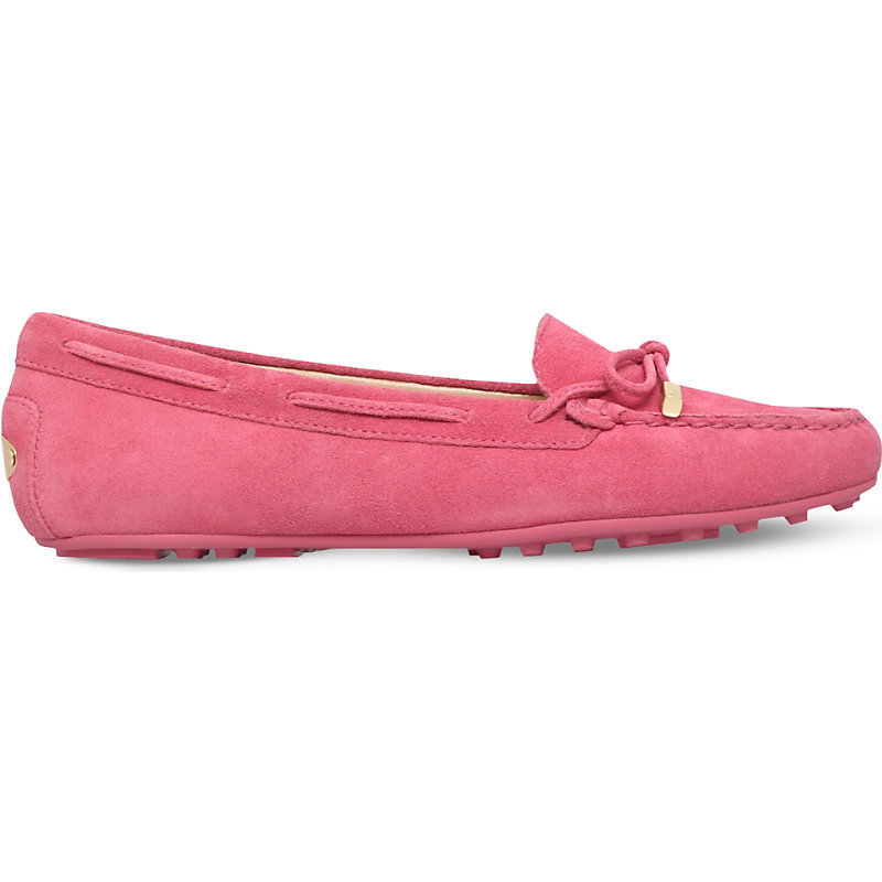 Daisy Suede Moccasins, Women's, Eur 37 / 4 Uk Women, Pink - predominant colour: pink; occasions: casual; material: suede; heel height: flat; toe: round toe; style: moccasins; finish: plain; pattern: plain; season: s/s 2016; wardrobe: highlight