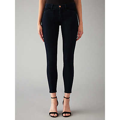 Everleigh Mid Rise Skinny Jeans, Empire - style: skinny leg; pattern: plain; waist: mid/regular rise; predominant colour: navy; occasions: casual; length: ankle length; fibres: cotton - stretch; texture group: denim; pattern type: fabric; season: s/s 2016