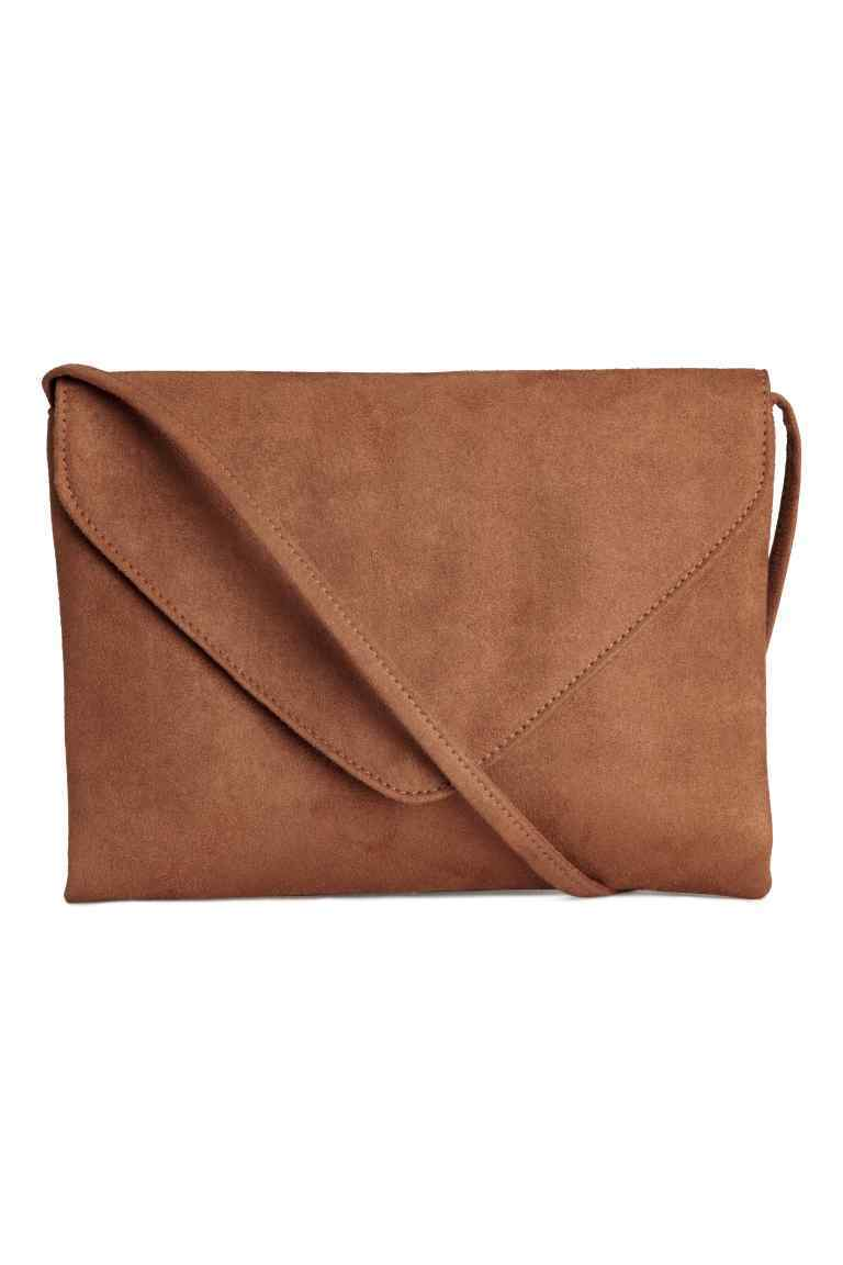 Small Shoulder Bag - predominant colour: camel; occasions: casual; type of pattern: standard; style: shoulder; length: shoulder (tucks under arm); size: small; material: fabric; pattern: plain; finish: plain; season: s/s 2016; wardrobe: investment