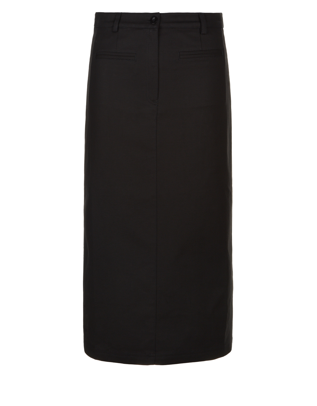 Layla Skirt - pattern: plain; length: ankle length; fit: body skimming; waist: mid/regular rise; predominant colour: black; occasions: casual; style: maxi skirt; fibres: cotton - 100%; texture group: cotton feel fabrics; pattern type: fabric; season: s/s 2016; wardrobe: basic