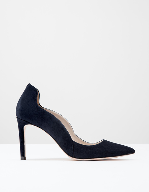 Wave High Court Navy Suede Women, Navy Suede - predominant colour: navy; occasions: evening, occasion, creative work; material: suede; heel: stiletto; toe: pointed toe; style: courts; finish: plain; pattern: plain; heel height: very high; season: s/s 2016; wardrobe: highlight