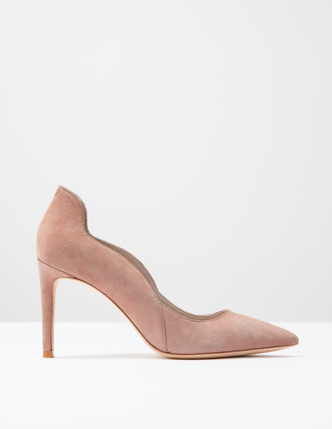Wave High Court Clay Pink Suede Women, Clay Pink Suede - predominant colour: nude; occasions: evening, occasion, creative work; material: suede; heel: stiletto; toe: pointed toe; style: courts; finish: plain; pattern: plain; heel height: very high; season: s/s 2016; wardrobe: highlight