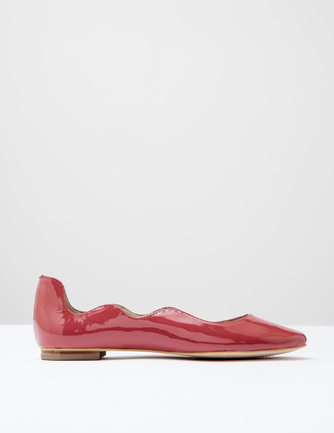 Wave Ballerina Antique Rose Patent Women, Antique Rose Patent - occasions: casual, creative work; material: faux leather; heel height: flat; toe: pointed toe; style: ballerinas / pumps; finish: plain; pattern: plain; predominant colour: dusky pink; season: s/s 2016; wardrobe: highlight
