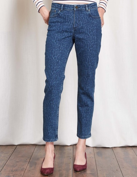 Cambridge Ankle Skimmer Jeans Printed Women, Printed - pattern: plain; style: slim leg; waist: mid/regular rise; predominant colour: denim; occasions: casual; length: ankle length; fibres: cotton - stretch; jeans detail: dark wash; texture group: denim; pattern type: fabric; season: s/s 2016; wardrobe: basic