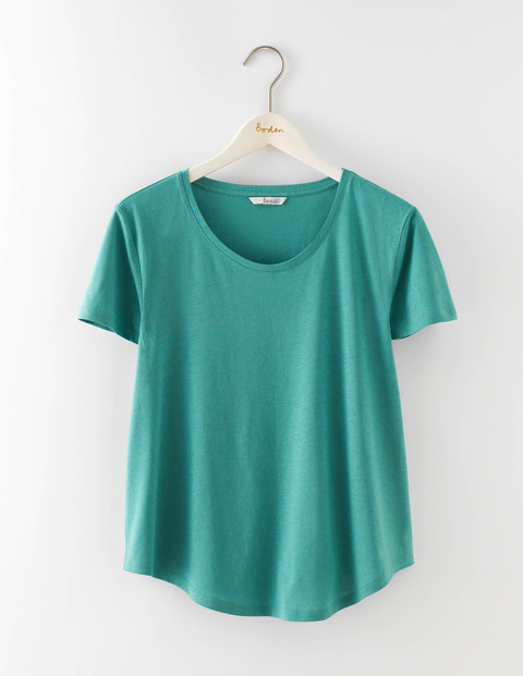 Supersoft Swing Tee Csarite Women, Csarite - neckline: round neck; pattern: plain; style: t-shirt; predominant colour: mint green; occasions: casual; length: standard; fibres: cotton - mix; fit: body skimming; sleeve length: short sleeve; sleeve style: standard; pattern type: fabric; texture group: jersey - stretchy/drapey; season: s/s 2016; wardrobe: highlight