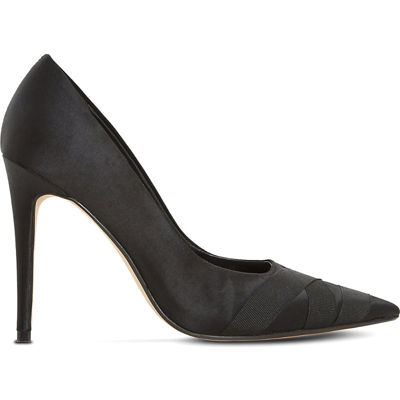 Archivve Pointed Satin Courts, Women's, Eur 38 / 5 Uk Women, Black Satin - predominant colour: black; occasions: evening, occasion; material: satin; heel: stiletto; toe: pointed toe; style: courts; finish: plain; pattern: plain; heel height: very high; season: s/s 2016