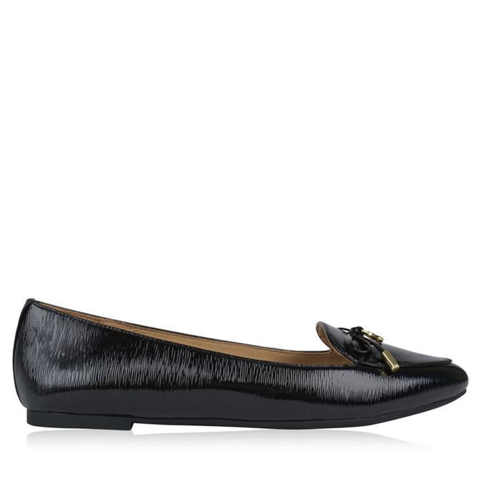 Nancy Flat Shoes - predominant colour: black; occasions: casual; material: leather; heel height: flat; toe: round toe; style: ballerinas / pumps; finish: plain; pattern: plain; season: s/s 2016; wardrobe: basic