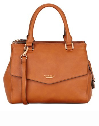 Grab Bag - predominant colour: tan; occasions: casual, creative work; type of pattern: standard; style: tote; length: handle; size: standard; material: leather; pattern: plain; finish: plain; season: s/s 2016; wardrobe: highlight