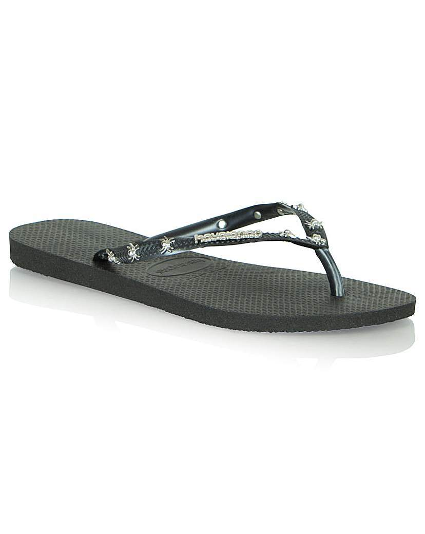 Havi Cards Flip Flop - predominant colour: black; material: plastic/rubber; heel height: flat; heel: standard; toe: toe thongs; style: flip flops; occasions: holiday; finish: plain; pattern: plain; season: s/s 2016