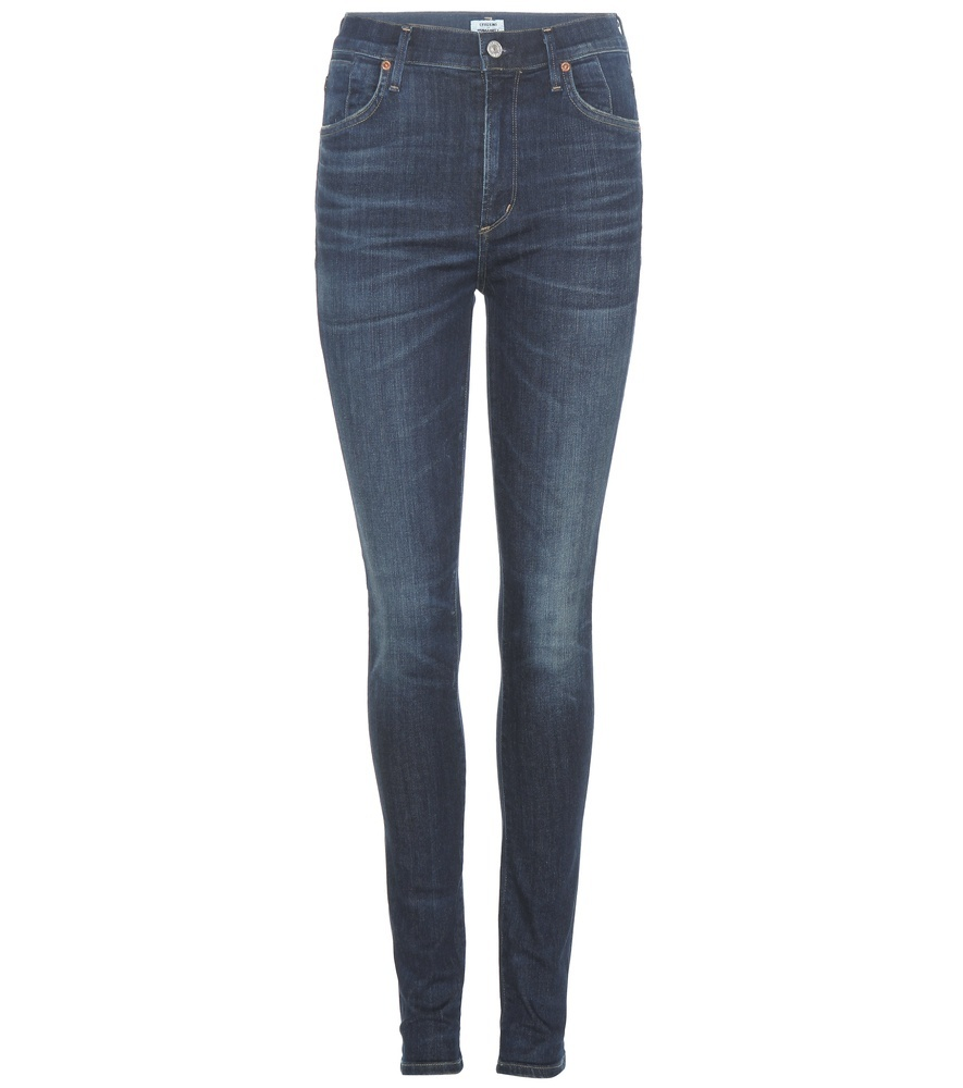 Carlie Skinny Jeans - style: skinny leg; length: standard; pattern: plain; pocket detail: traditional 5 pocket; waist: mid/regular rise; predominant colour: navy; occasions: casual; fibres: cotton - stretch; texture group: denim; pattern type: fabric; season: s/s 2016