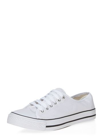 Womens White 'catsu' Trainers White - predominant colour: white; occasions: casual; material: fabric; heel height: flat; toe: round toe; style: trainers; finish: plain; pattern: plain; season: s/s 2016; wardrobe: basic