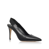 Lillian Sling - predominant colour: black; occasions: evening, work, occasion; material: leather; heel height: high; heel: stiletto; toe: pointed toe; style: slingbacks; finish: plain; pattern: plain; season: s/s 2016; wardrobe: investment