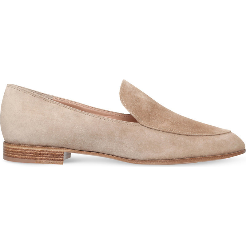 Marcel Suede Mocassins, Women's, Eur 37.5 / 4.5 Uk Women, Beige - predominant colour: camel; occasions: casual, work, creative work; material: suede; heel height: flat; toe: pointed toe; style: loafers; finish: plain; pattern: plain; season: s/s 2016; wardrobe: basic