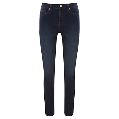 Arizona Skinny Jeans, Blue - style: skinny leg; length: standard; pattern: plain; pocket detail: traditional 5 pocket; waist: mid/regular rise; predominant colour: navy; occasions: casual; fibres: cotton - stretch; texture group: denim; pattern type: fabric; season: s/s 2016; wardrobe: basic