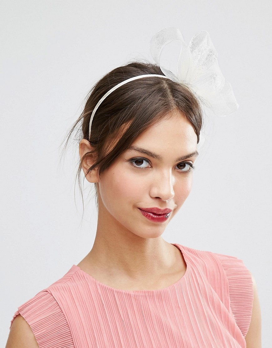 Basic Fascinator Headband Nude - predominant colour: pink; occasions: occasion; type of pattern: standard; style: fascinator; size: standard; material: sinamay; pattern: plain; season: s/s 2016; wardrobe: event