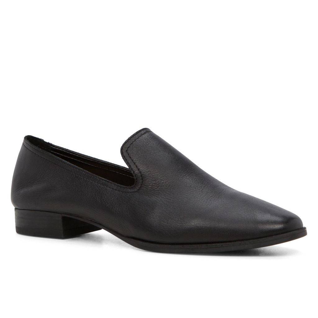 Marsi Dandy Loafers, Black - predominant colour: black; occasions: work, creative work; material: leather; heel height: flat; toe: round toe; style: loafers; finish: plain; pattern: plain; season: s/s 2016