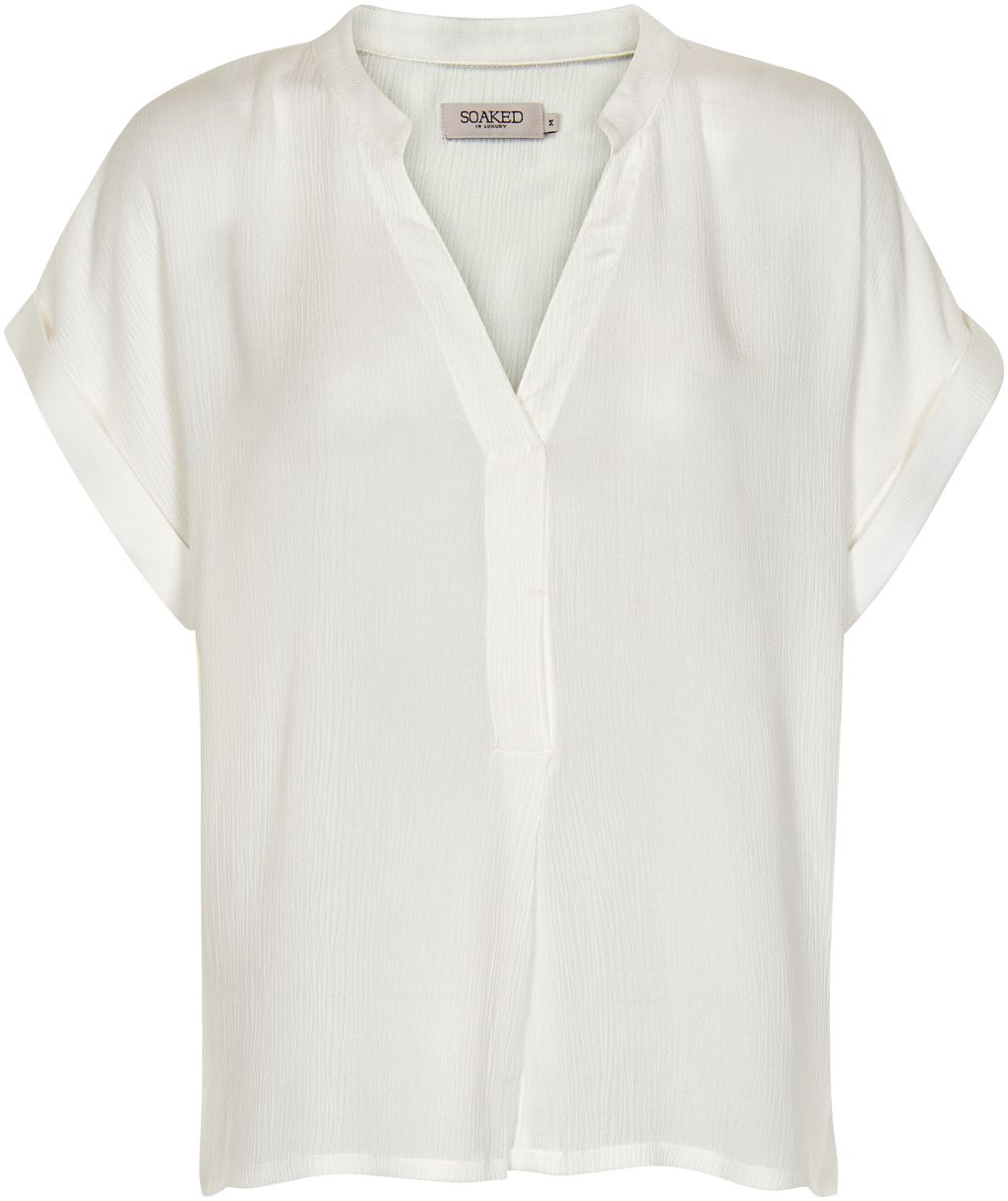 Oversized V Neck Top, White - pattern: plain; predominant colour: white; occasions: casual, creative work; length: standard; style: top; neckline: collarstand & mandarin with v-neck; fibres: viscose/rayon - 100%; fit: body skimming; sleeve length: short sleeve; sleeve style: standard; pattern type: fabric; texture group: other - light to midweight; season: s/s 2016; wardrobe: basic
