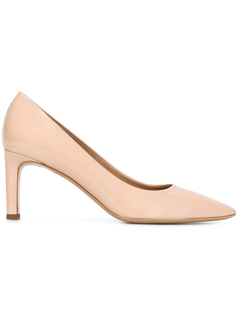 'flora' Pumps, Women's, Nude/Neutrals - predominant colour: nude; occasions: evening, occasion; material: suede; heel height: high; heel: standard; toe: pointed toe; style: courts; finish: plain; pattern: plain; season: s/s 2016