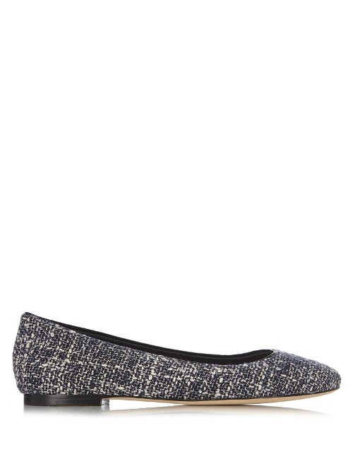 Cambridge Flats - predominant colour: black; occasions: casual, work, creative work; material: leather; heel height: flat; toe: round toe; style: ballerinas / pumps; finish: plain; pattern: patterned/print; season: s/s 2016; wardrobe: highlight