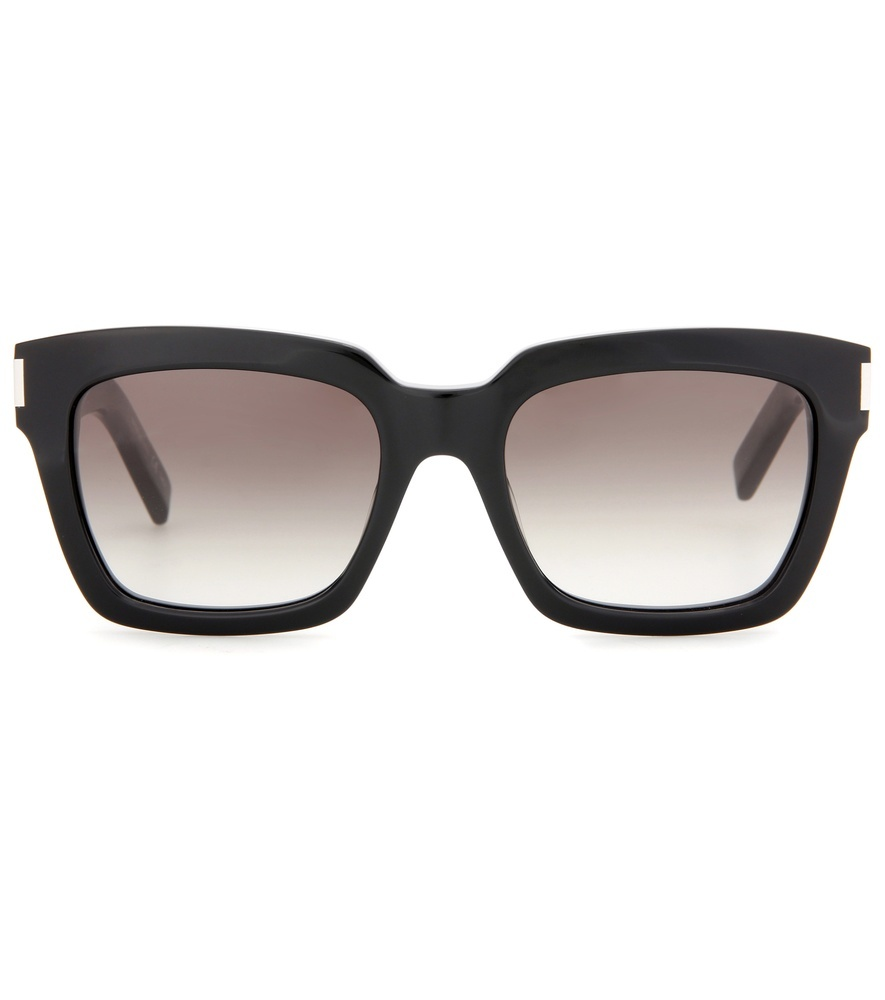Bold 1 Sunglasses - predominant colour: black; occasions: casual, holiday; style: square; size: large; material: plastic/rubber; pattern: plain; finish: plain; season: s/s 2016; wardrobe: basic
