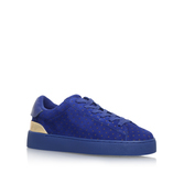 Palyla - predominant colour: royal blue; occasions: casual, activity; material: suede; heel height: flat; toe: round toe; style: trainers; finish: plain; pattern: plain; season: s/s 2016