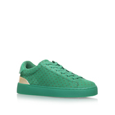 Palyla - predominant colour: emerald green; occasions: casual, activity; material: suede; heel height: flat; toe: round toe; style: trainers; finish: plain; pattern: plain; season: s/s 2016
