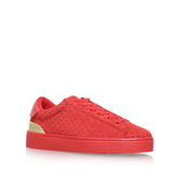 Palyla - predominant colour: true red; occasions: casual, activity; material: suede; heel height: flat; toe: round toe; style: trainers; finish: plain; pattern: plain; season: s/s 2016