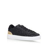 Palyla8 - predominant colour: black; occasions: casual, activity; material: fabric; heel height: flat; toe: round toe; style: trainers; finish: plain; pattern: plain; season: s/s 2016