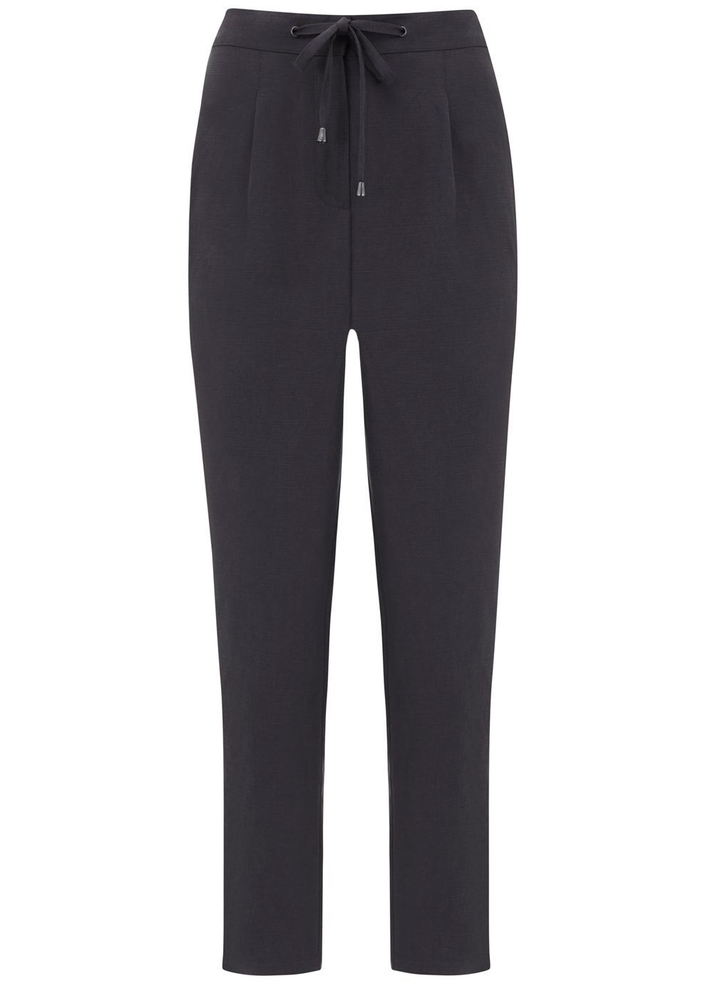 Smoke Sports Pant, Grey - length: standard; pattern: plain; waist: high rise; predominant colour: charcoal; occasions: work; fibres: wool - 100%; fit: slim leg; pattern type: fabric; texture group: woven light midweight; style: standard; season: s/s 2016; wardrobe: basic