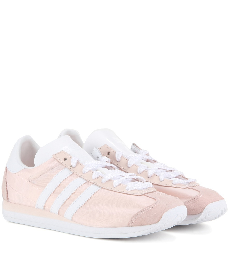 Country Og Fabric Sneakers - secondary colour: white; predominant colour: blush; occasions: casual; material: fabric; heel height: flat; toe: round toe; style: trainers; finish: plain; pattern: plain; season: s/s 2016; wardrobe: basic