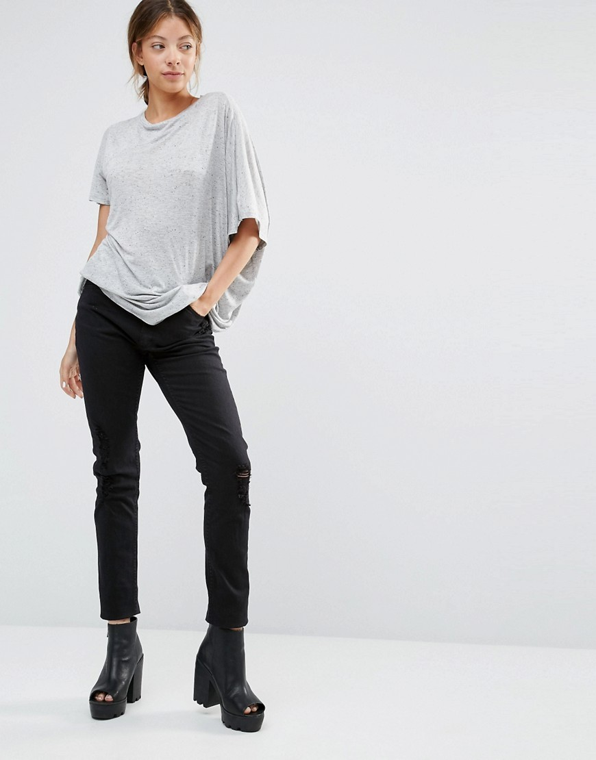 Second Skin Skinny Jeans 34 Freedom Black - style: skinny leg; length: standard; pattern: plain; pocket detail: traditional 5 pocket; waist: mid/regular rise; predominant colour: black; occasions: casual, creative work; fibres: cotton - stretch; texture group: denim; pattern type: fabric; season: s/s 2016; wardrobe: basic