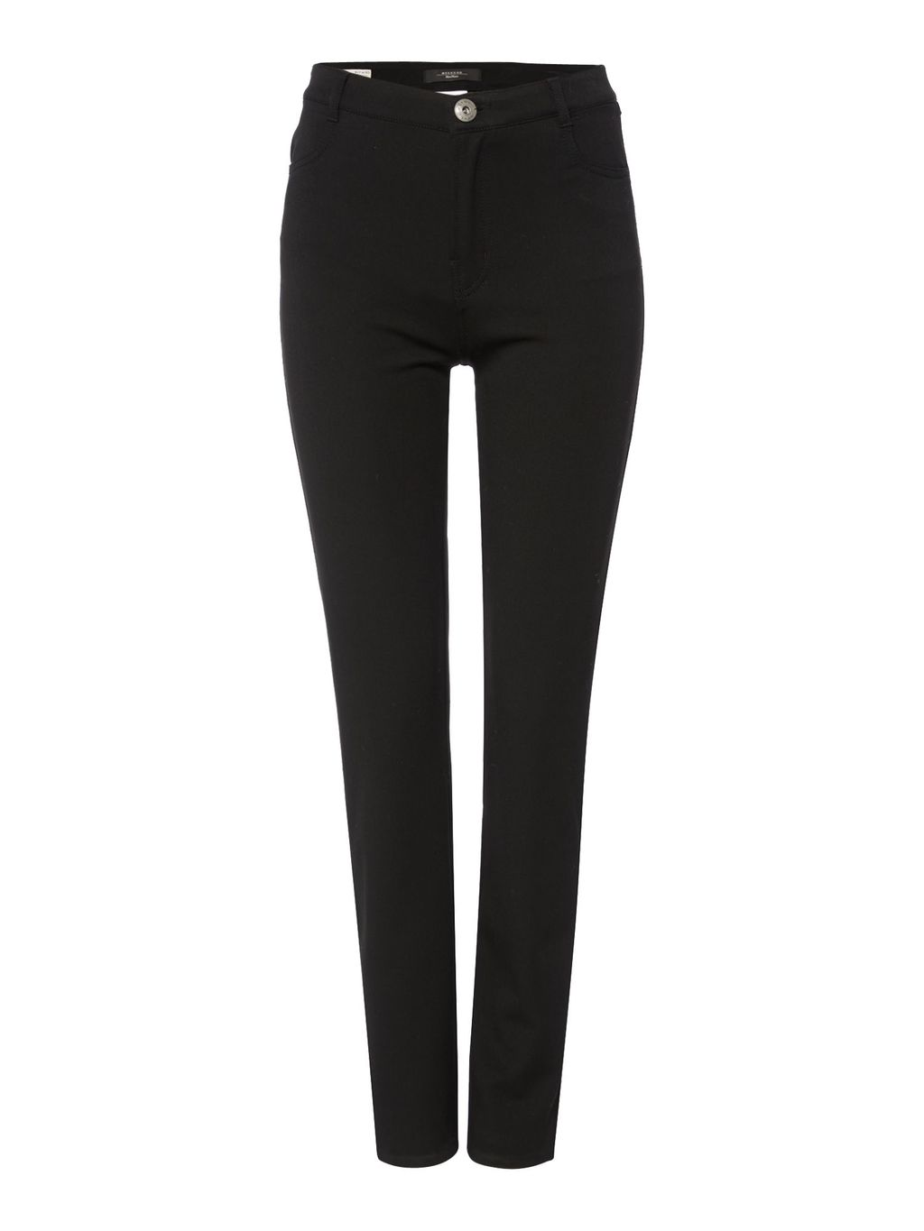 Palmira Stretch Slim Leg Trouser, Black - length: standard; pattern: plain; waist: high rise; predominant colour: black; occasions: casual, creative work; fibres: polyester/polyamide - mix; fit: slim leg; pattern type: fabric; texture group: other - light to midweight; style: standard; season: s/s 2016; wardrobe: basic