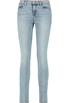 811 Mid Rise Skinny Jeans Mid Denim - style: skinny leg; length: standard; pattern: plain; pocket detail: traditional 5 pocket; waist: mid/regular rise; predominant colour: denim; occasions: casual; fibres: cotton - stretch; jeans detail: washed/faded; texture group: denim; pattern type: fabric; season: s/s 2016