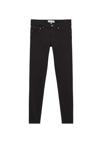 Kim Skinny Push Up Jeans - style: skinny leg; length: standard; pattern: plain; pocket detail: traditional 5 pocket; waist: mid/regular rise; predominant colour: black; occasions: casual, creative work; fibres: cotton - stretch; texture group: denim; pattern type: fabric; season: s/s 2016; wardrobe: basic