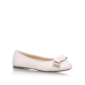 Kiera Ballet - predominant colour: ivory/cream; occasions: casual; material: leather; heel height: flat; toe: round toe; style: ballerinas / pumps; finish: plain; pattern: plain; embellishment: bow; season: s/s 2016; wardrobe: basic