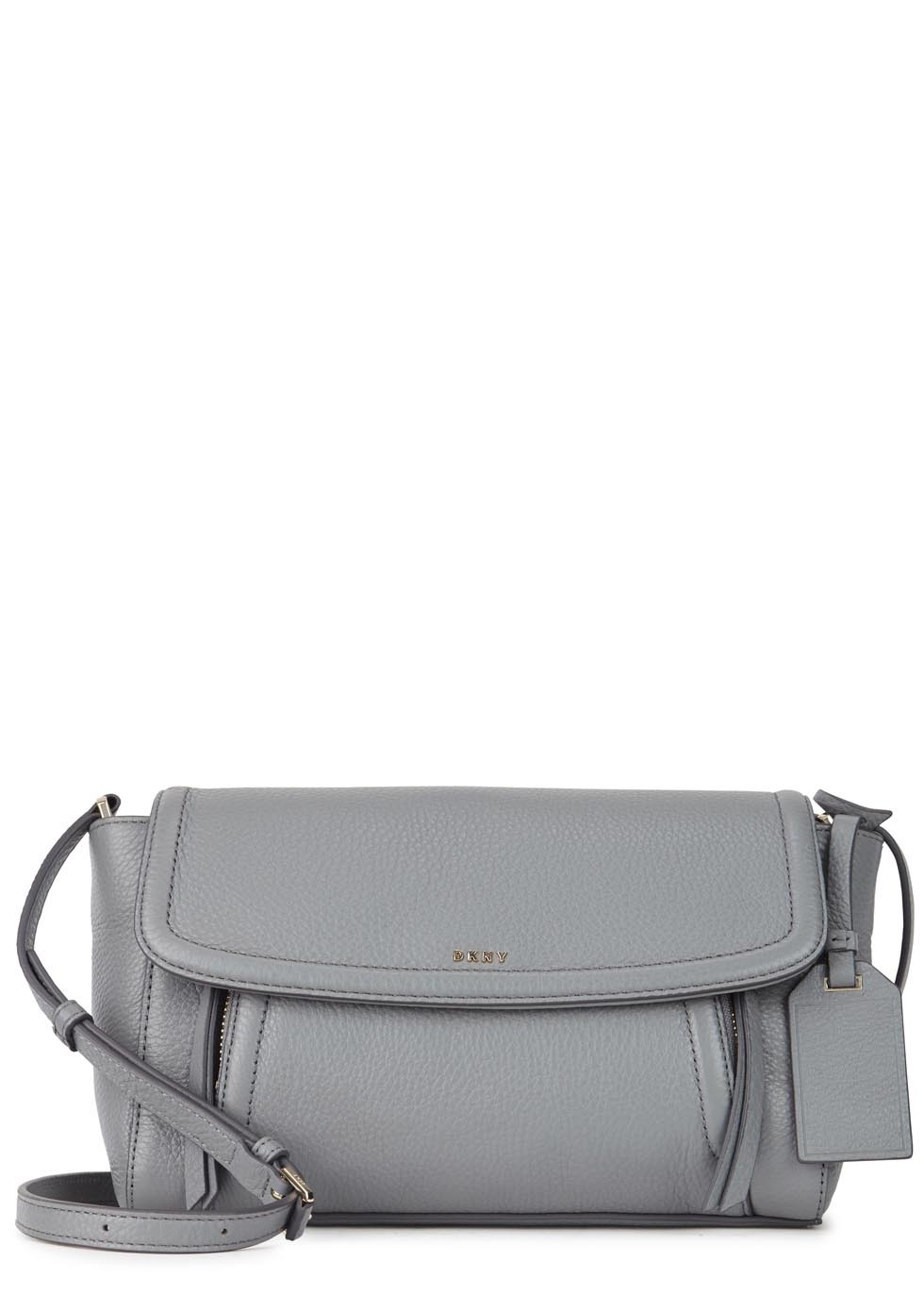 Chelsea Vintage Small Leather Cross Body Bag - predominant colour: mid grey; occasions: casual, creative work; type of pattern: standard; style: shoulder; length: across body/long; size: standard; material: leather; pattern: plain; finish: plain; season: s/s 2016; wardrobe: investment