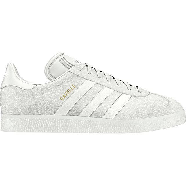 Gazelle Trainers - predominant colour: ivory/cream; occasions: casual, creative work; material: leather; heel height: flat; toe: round toe; style: trainers; finish: plain; pattern: plain; season: s/s 2016; wardrobe: basic