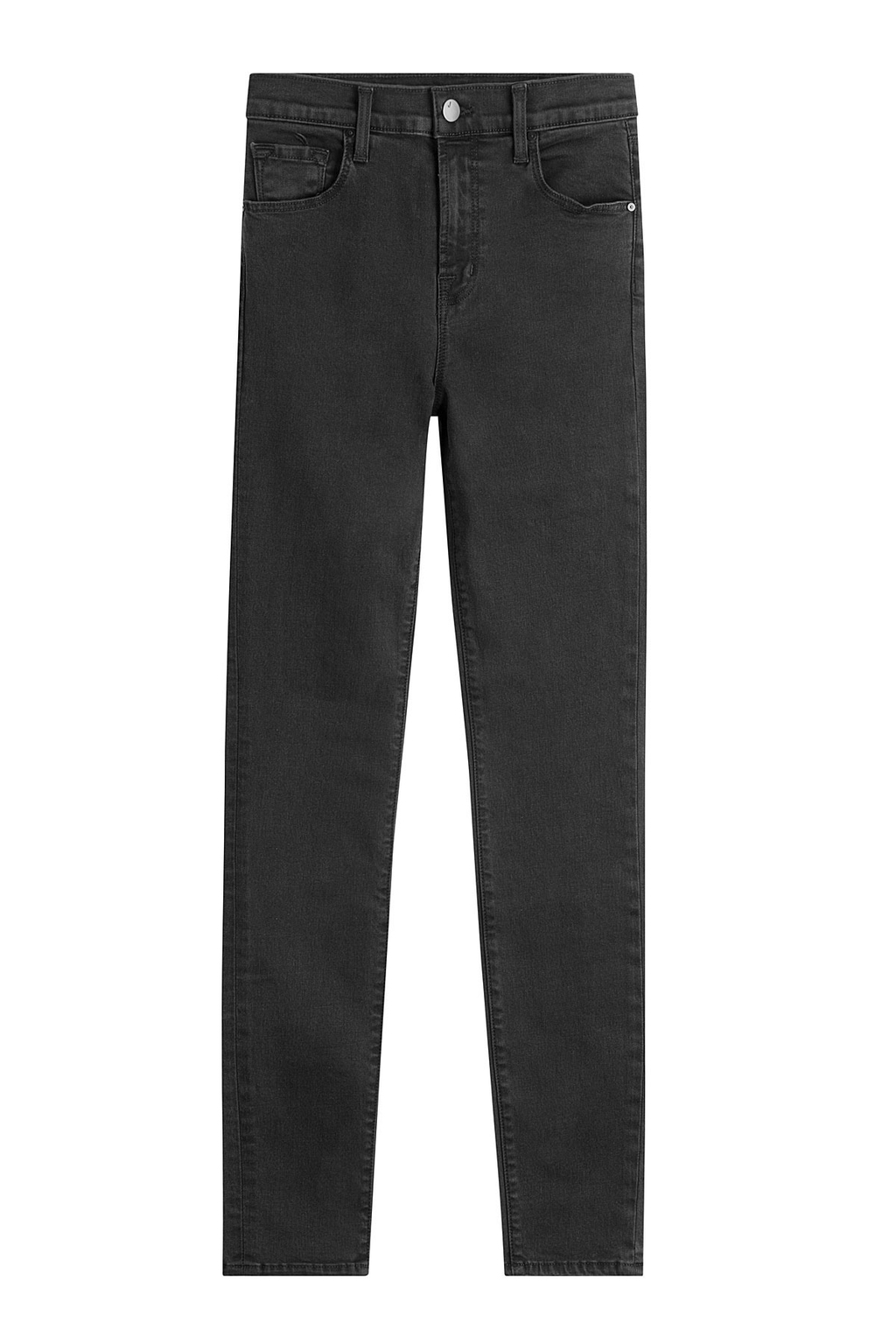 Skinny Jeans Grey - style: skinny leg; pattern: plain; pocket detail: traditional 5 pocket; waist: mid/regular rise; predominant colour: black; occasions: casual; length: ankle length; fibres: cotton - stretch; texture group: denim; pattern type: fabric; season: s/s 2016; wardrobe: basic