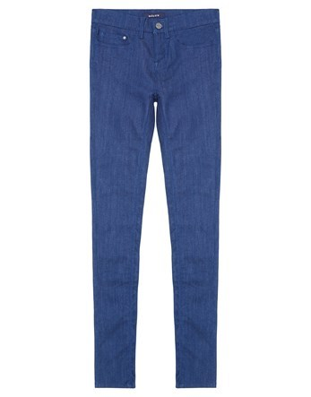 Skinny Ankle Grazer Jean - style: skinny leg; pattern: plain; pocket detail: traditional 5 pocket; waist: mid/regular rise; predominant colour: navy; occasions: casual; length: ankle length; fibres: cotton - stretch; texture group: denim; pattern type: fabric; wardrobe: basic; season: a/w 2016